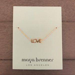 """Maya Brenner Designs """"Love"""" Bracelet - Rose Gold"""